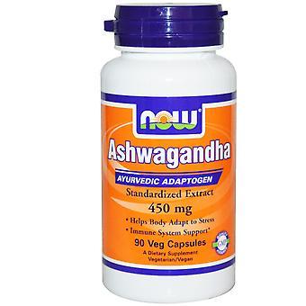 Ashwagandha 450 mg (90 vegetarische Kapseln) - Jetzt Lebensmittel