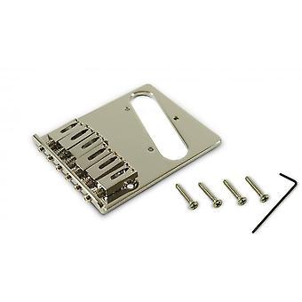 Kluson Contemporary Telecaster Bridge Replacement - Steel Block Saddles