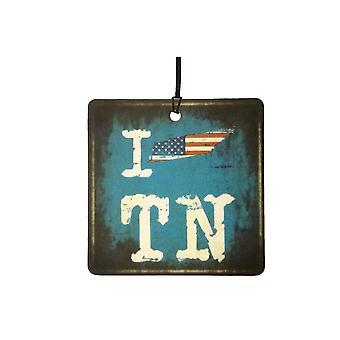Adoro Tennessee volontari dello stato auto deodorante