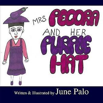 Mrs. Pecora  Her Purple Hat by Palo & June