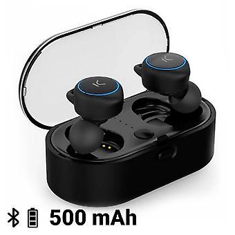 Wireless Headphones KSIX Go & Play Unlimited Bluetooth Black