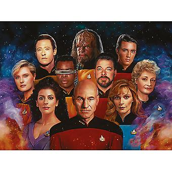 Star Trek The Next Generation 50th Anniversary Canvas Plate 60-80cm