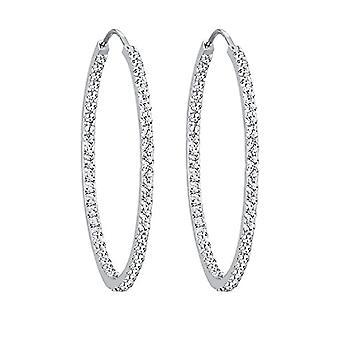 Elli Ohrringe Damen Reifen in Silber 925 0304381713