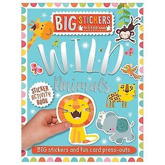 Big Stickers for Little Hands - Wild Animals - 9781788430647 Book