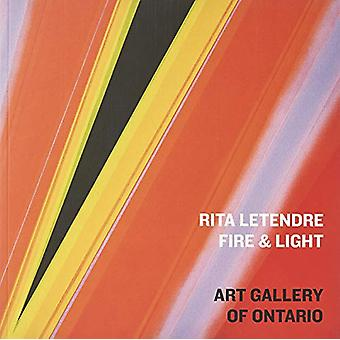 Rita Letendre - Fire & Light by Wanda Nanibush - 9781894243971 Book