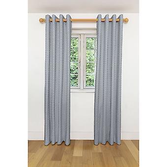 Mcalister Textilien monterrey schwarz + weiß Vorhänge