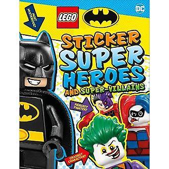 LEGO Batman Sticker Super Heroes and Super-Villains by DK - 978024140