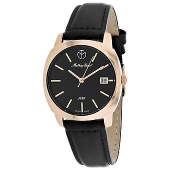 Mathey Tissot Mujeres's Smart Black Dial Watch - D6940PN