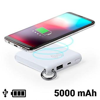 Power Bank with Wireless Charger White