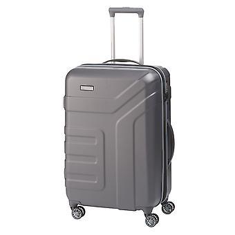 travelite Vector Trolley M, 4 rouleaux, 70 cm, 79 L, gris