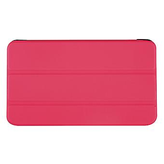 Slim PU Leather Case Cover for Asus FonePad 8 FE380CG ME380CXG[Hot Pink]