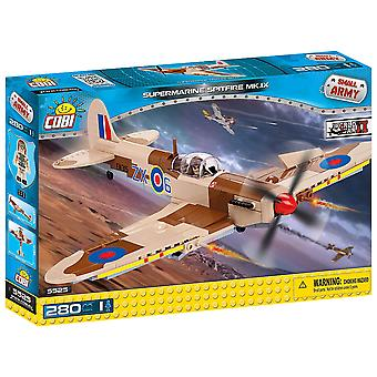 Small Army 280 piece Supermarine Spitfire Mk IX