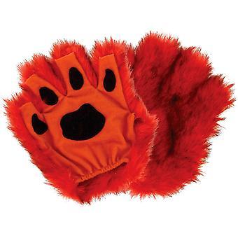 Paws Fingerless Orange