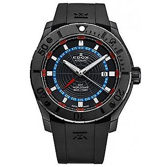 Edox Watches Class-1 Men's Watch GMT Worldtimer 93005 37N NOBU
