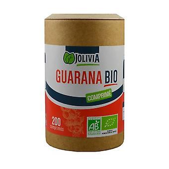 Guarana Organic 200 tabletten van 400mg