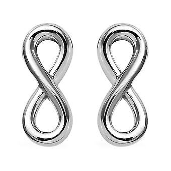 RHAPSODY 950 Platinum Infinity Stud Earrings Best Gift for Women and Girls