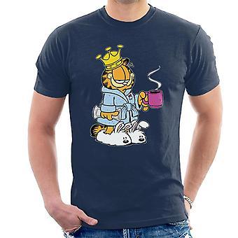 Garfield ochtend koffie & slippers mannen ' s T-shirt