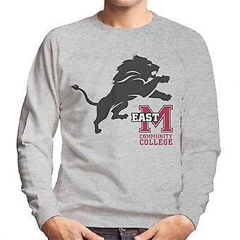 East Mississippi Community College Dark Lion Logo Men's Sweatshirt