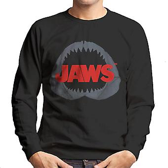 Jaws Shark Teeth Men's Sweatshirt