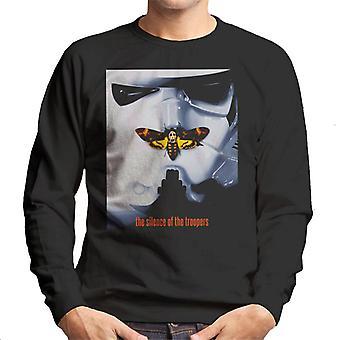 Original Stormtrooper Silence Of The Troopers Parody Men's Sweatshirt