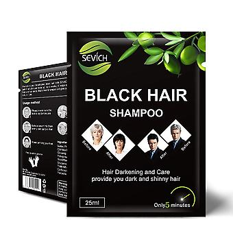 Hair Shampoo For Instant Black Hair Shiny, Repair Damaged Hair Care