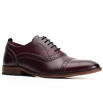Base de Londres Elenco Lavado Mens Brogues