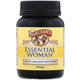 Barlean-apos;s, Essential Woman Supplement, 120 Softgels