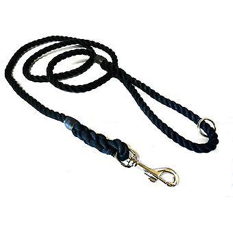 Kjk Ropeworks Clip & Ring Lead - Black - 10mm x 170cm