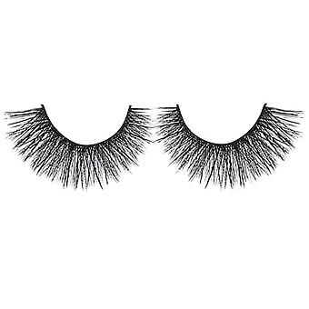 Bliss False Eyelashes - #121 / Black - Elegant 3D Effect Luscious Lashes
