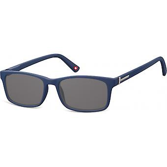 Sunglasses Unisex Rectangular Blue/Grey (MP25)