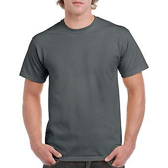 Gildan G5000 Plain Heavy Cotton T Shirt in Charcoal