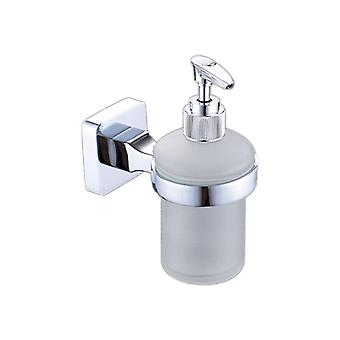 Stainless Steel Manual Soap Dispense 635295 Silver