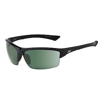 Dirty Dog Sly Polarised Sunglasses (black/green)