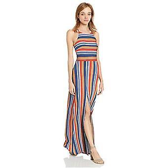 A. Byer Young Women's Teen Halter Style Blouson Dress