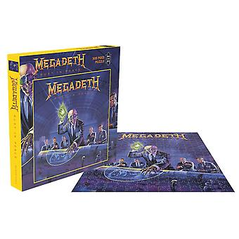Megadeth Jigsaw Puzzle Rust In Peace Album Cover new Official 500 Piece