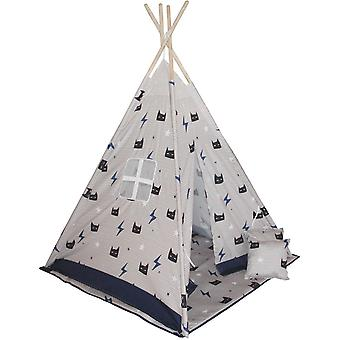 Tipi teltta Enero lelut, matto ja naamio tyynyt