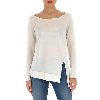 Fabiana Filippi Mad260b932n907024 Feminino's Suéter de Cashmere Branco