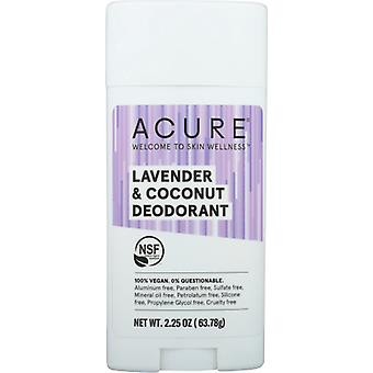 Acure Deodorants Stick, Lavender & Coconut 2.25 Oz