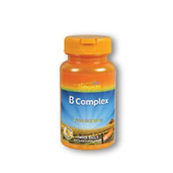 Thompson Vitamin B Complex, WITH RICE BRAN, 60 TAB