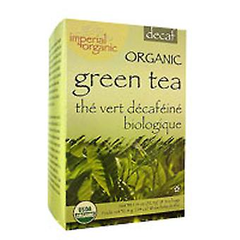 Uncle Lees Teas Imperial Organic Green Tea, Decaffeinated 18 CT