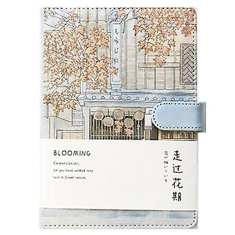Creative Notebook With Hand-painted Illustration With 2 Bookmark-240pages