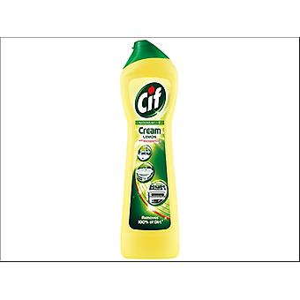 Lever Brothers Cif Cream Cleaner Lemon 500ml 86791