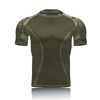 Amazing Military Camo Shor,t Sleeve Tactical Shirt Combat T Shirts