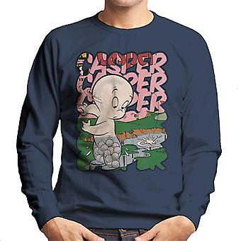 Casper The Friendly Ghost Golf Water Men's Sweatshirt