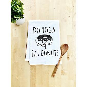 Syökö jooga donitseja tiskipyyhe