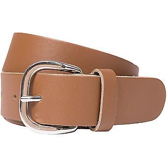 Shenky Women's and Men's Leather Belt 4cm Width