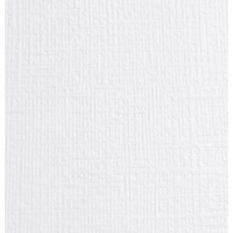 10 Sheets A4 Ivory Becarre Linen Embossed A4 Card Stock