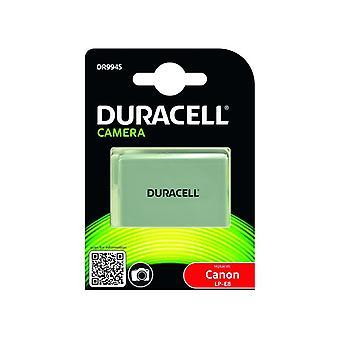 Duracell premium analog canon lp-e8 battery for eos 550d 600d 700d 7.4v 1020mah 1
