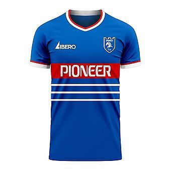 Ipswich 2020-2021 Home Concept Football Kit (Libero)