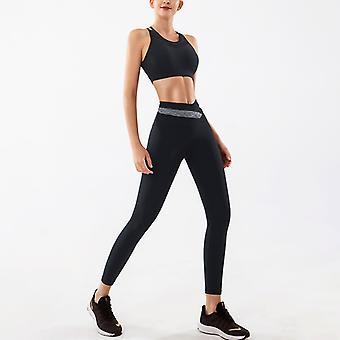 Ladies yoga rapide séchage mince combinaison de sport haute élastique vêtements YJ060